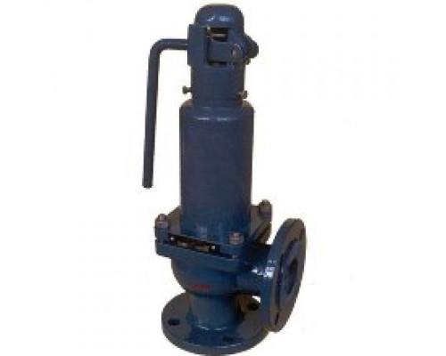 Клапан 17с11нж предохранительный пружинный малоподъёмный цапковый