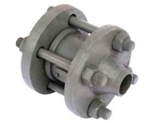 Клапан 19с38нж обратный поворотный из углеродистых сталей