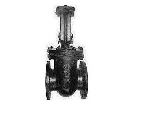 Задвижка 30ч973бр клиновая чугунная с выдвижным шпинделем фланцевая с латунным или чугунным уплотнением