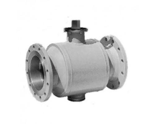 Шаровой стальной кран для газа полнопроходной Broen Ballomax КШГ 71.113 фланец/фланец с ИСО-фланцем, Ру 16