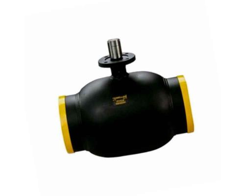 Шаровой стальной кран Broen Ballomax КШТ 61.102 сварка/сварка с ИСО-фланцем, без управления, Ру 25
