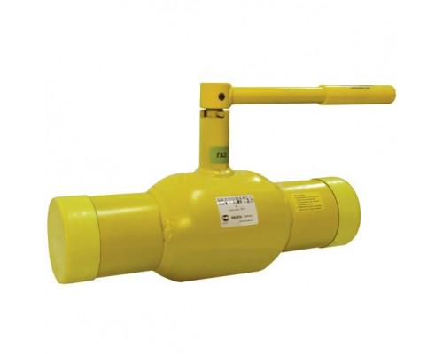 Шаровой стальной кран для газа Broen Ballomax КШГ 70.102 сварка/сварка с рукояткой, Ру 25