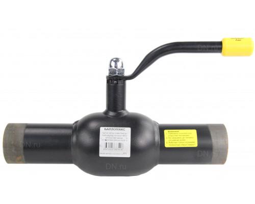 Шаровой стальной кран Broen Ballomax КШТ 60.102 сварка/сварка с рукояткой, Ру 25