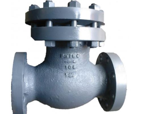 Клапан 19нж19нж (КОП-160) обратный поворотный фланцевый