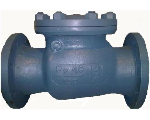 Клапан 19нж53нж (Клапан КОП-40) обратный поворотный фланцевый