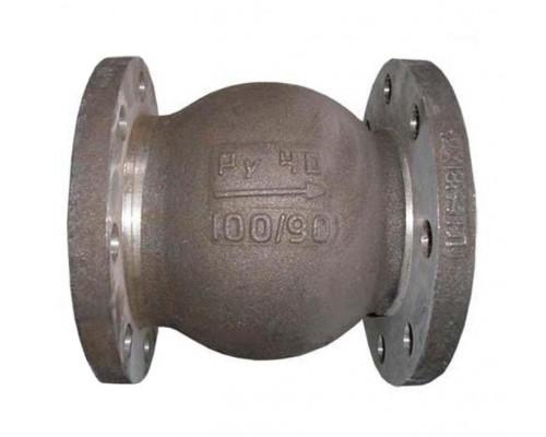 Клапан 19нж63бк обратный поворотный фланцевый