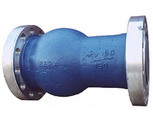 Клапан 19нж10бк обратный поворотный фланцевый