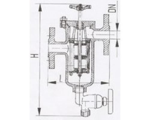 Фильтры масла и топлива фланцевые щелевые 427-03.215-01, Ру 40