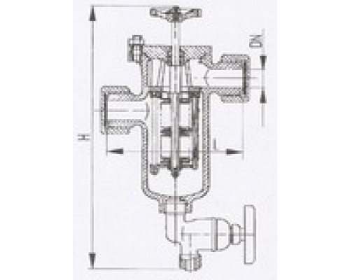 Фильтры масла и топлива штуцерные щелевые 427-03.240-01, Ру 10