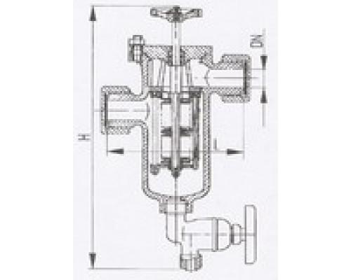 Фильтры масла и топлива штуцерные щелевые 427-03.240, Ру 10