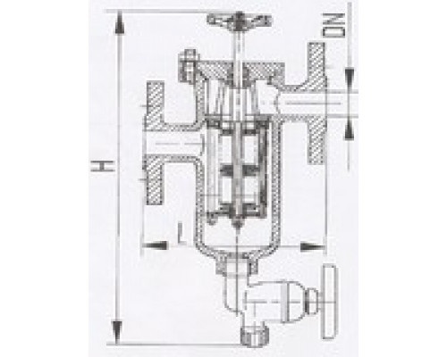 Фильтры масла и топлива фланцевые щелевые 427-03.217, Ру 40